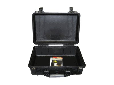 Pelican 1500NF Case, No Foam, Black