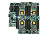 Supermicro Motherboard, Quad Socket SAS2, IPMI 2.0, MBD-X9QR7-TF+-O, 13763082, Motherboards