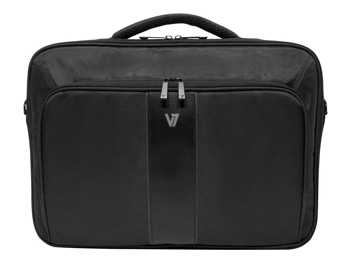 V7 Professional 2 Frontloader Carrying Case for 13 Notebook, CCP24-9N, 17413485, Carrying Cases - Notebook