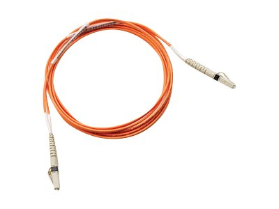 HPE LC-LC 50 125 OM3 Multimode Fiber Cable, 15m