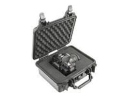 Pelican 1200 Watertight Mini-S Hard Case with Foam Insert, Silver, 1200-000-180, 13700330, Carrying Cases - Other