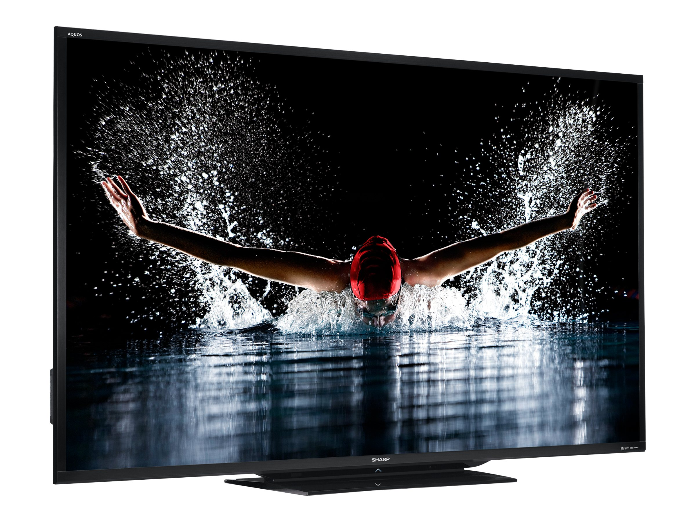 Sharp 90 LC90LE657U Full HD LED-LCD 3D TV, Black, LC90LE657U