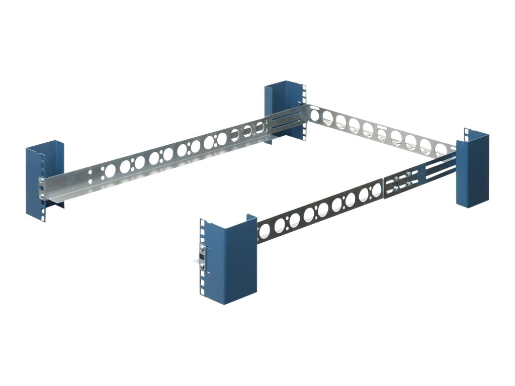 Innovation First Rackmount Rails 1U Generic for 19 4-post Racks, 1UKIT-109, 4906811, Rack Mount Accessories