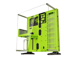 Thermaltake Chassis, Core P5 Green Edition Mid Tower ATX 4x3.5 Bays 8xSlots, Green, CA-1E7-00M8WN-00, 31484360, Cases - Systems/Servers