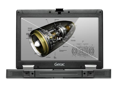 Getac SWM154 Rugged Notebook RF Pass-Thru (WWAN GPS), FR, GPS, W7P, 3YR, SWM154