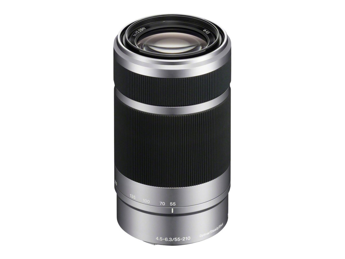 Sony SEL55210 E-Mount 55-210mm F4.5-6.3 OSS Lens, SEL55210, 13152126, Camera & Camcorder Lenses & Filters