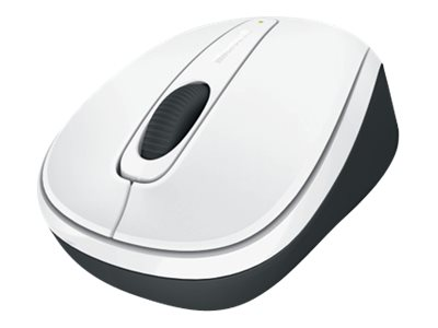 Microsoft Wireless Mobile Mouse 3500 Limited Edition White, GMF-00176, 13471055, Mice & Cursor Control Devices