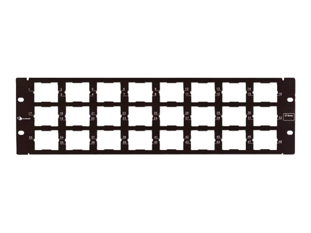 Siemon CT Patch Panels 48Port, CT-PNL-48