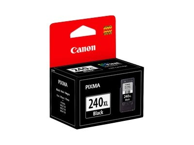 Canon Black PG-240XL Ink Cartridge, 5206B001
