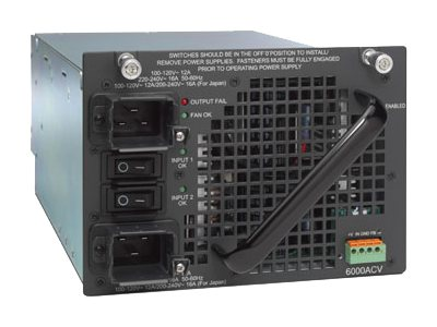 Cisco Power Supply Plug-in Module AC 110 220V 6000 Watts
