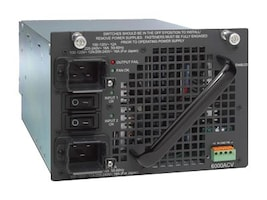 Cisco Catalyst 4500 Dual-input 6000 Watt AC Power Supply, PWR-C45-6000ACV=, 9973941, Power Supply Units (internal)