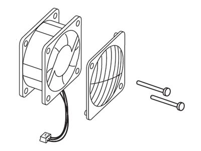 Lexmark Cooling Fan for E250d, E250dn, E350d, E352dn & E450dn Printers, 40X2828, 15826622, Cooling Systems/Fans