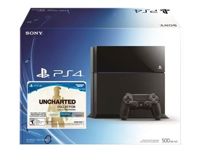 Sony PS4 500GB Console, Uncharted V, Gold Wireless Headset, SNY-KT-UCC-HS, 31091443, Video Game Consoles