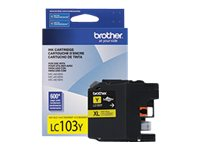 Brother Yellow LC103Y Innobella High Yield (XL Series) Ink Cartridge for the MFC-J4510DW