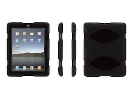 Griffin Survivor Case for Apple iPad 2 3 4 Gen, Black, GB35108-3, 17678715, Carrying Cases - Tablets & eReaders
