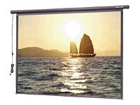 Da-Lite Slimline Electrol Projection Screen, Matte White, 4:3, 100, 220V