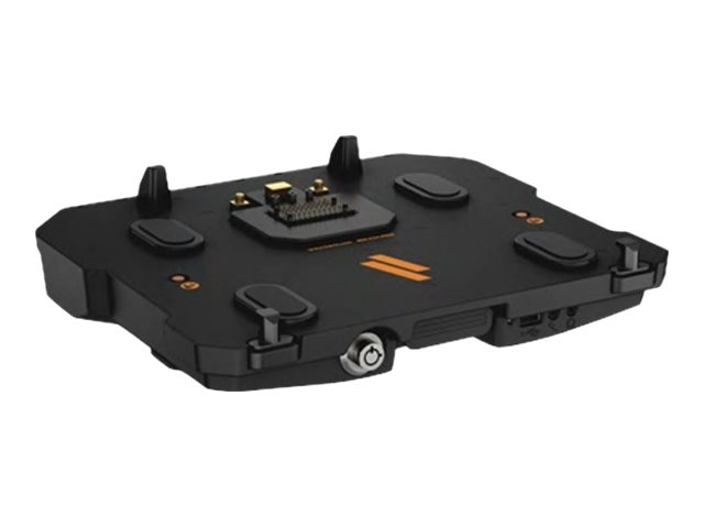 Havis Vehicle Advanced Docking Station w Triple Pass-Thru for Latitude 14 Rugged, 12 14 Rugged Extreme, DS-DELL-401-3