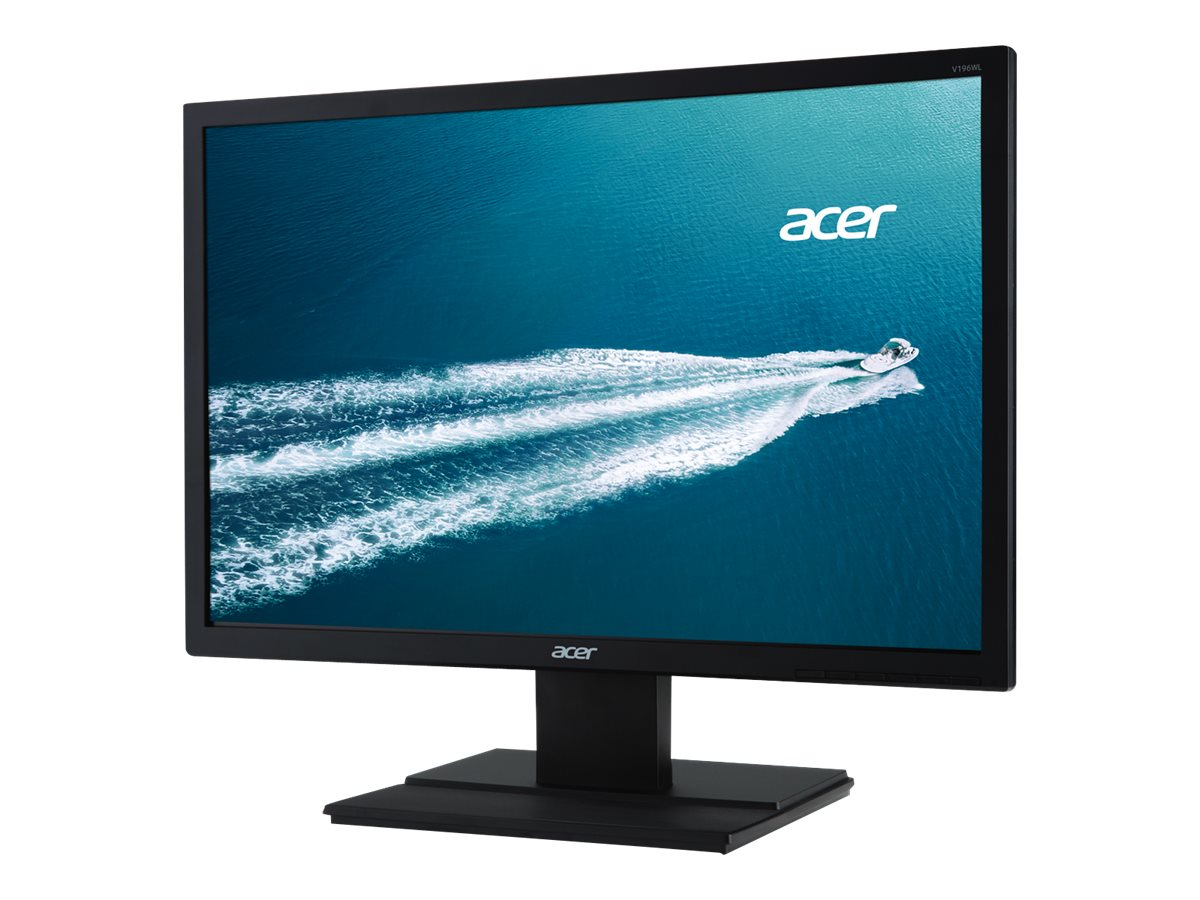 Acer 19 V196WL BD LED-LCD Monitor, Black, UM.CV6AA.002, 15406821, Monitors - LED-LCD