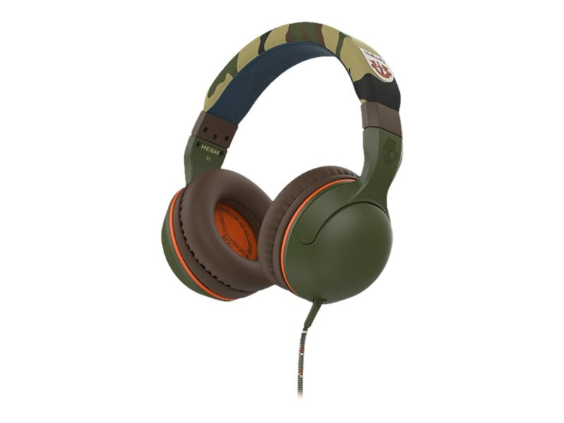 Skullcandy Hesh 2 Wireless Bluetooth Headphones - Camo, S6HBGY-367