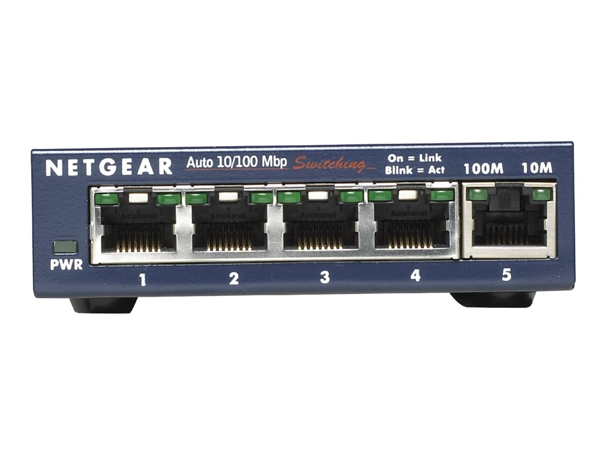 Netgear ProSAFE FS105 5-Port FE Switch, FS105NA