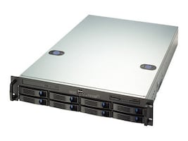 Chenbro 2U, 8 Bays, SATA2 SAS Solution, RM21508T2-BH, 9179086, Cases - Systems/Servers