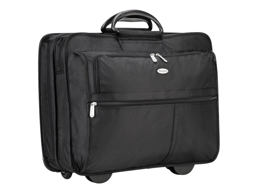 Targus 17 XL Rolling Notebook Case, Black, TXL717, 4741068, Carrying Cases - Notebook