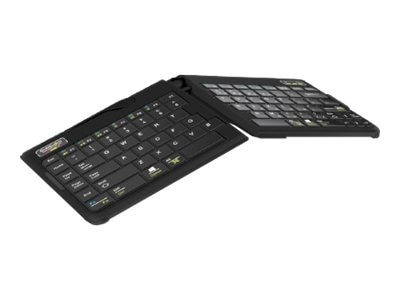 Ergoguys GoldTouch Go2 Mobile Bluetooth Keyboard, GTP-0044W, 15986706, Keyboards & Keypads