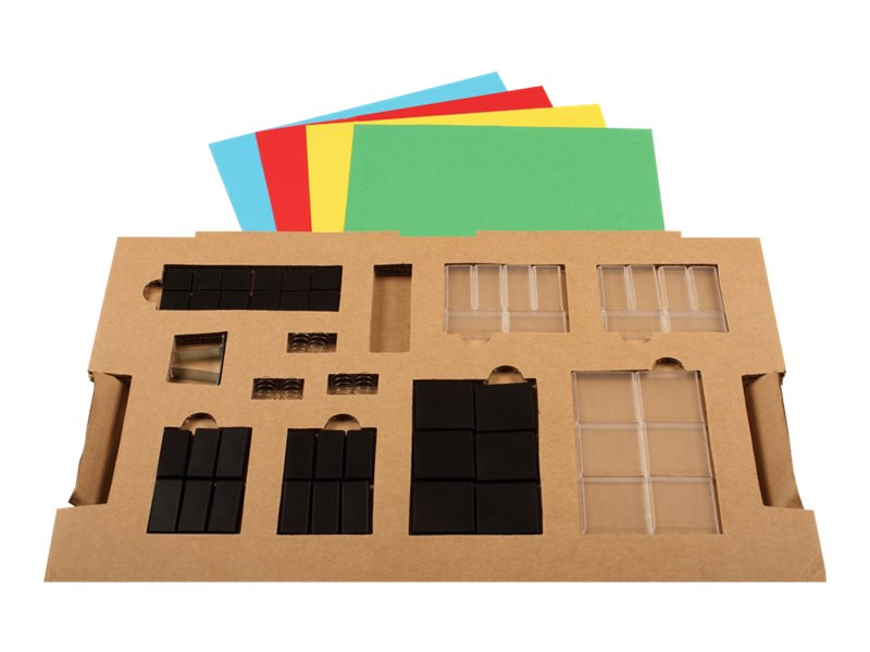 Cherry SPOS Accessory Kit 1x2 and 2x2 Lenses Color Blank Paper Inserts Black, G99-1779ZUB, 8284271, Keyboards & Keypads