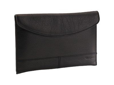 Targus Leather Universal Sleeve for e-Reader, Black, THZ002US, 12631635, Protective & Dust Covers