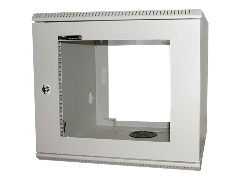 StarTech.com 10U 19 Wall Mounted Server Rack Cabinet, CAB1019WALL