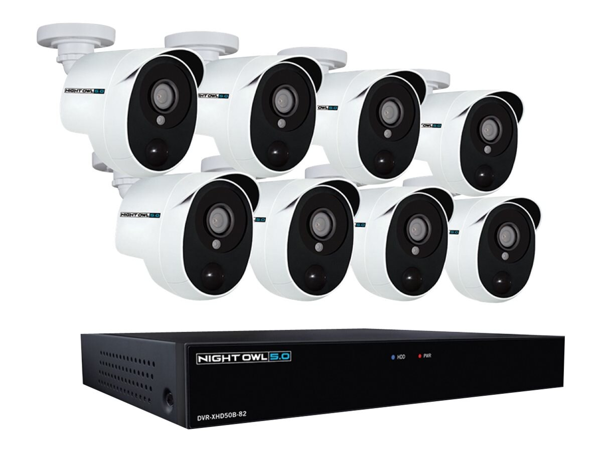Night Owl 5 MP Extreme Security System 1080p