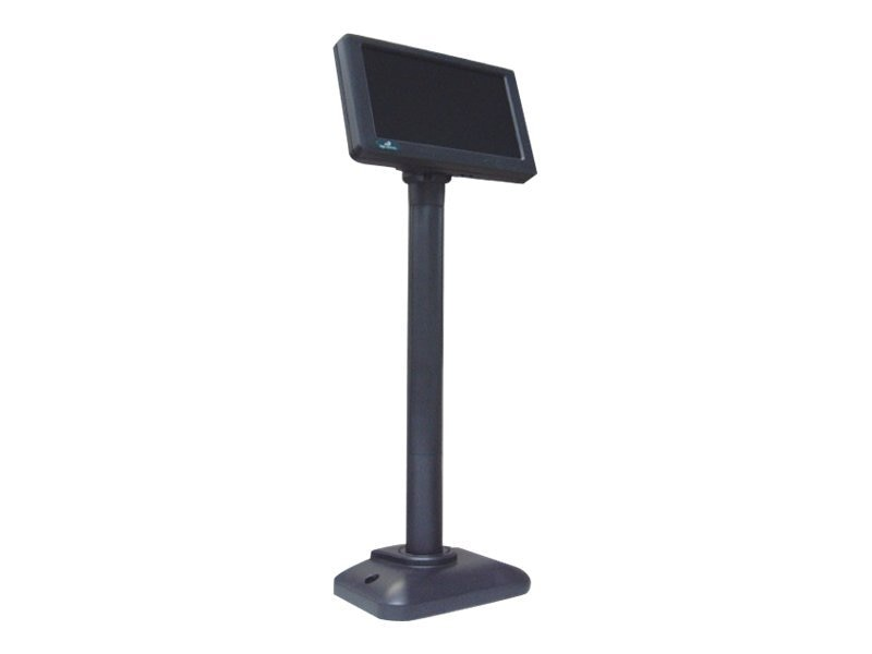 Logic Controls Pole Display, 7 LED 800x480 VGA, Dark Gray, LV3000, 12603255, POS Pole Displays