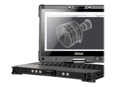 Getac V110 G2 Fully Rugged Convertible Notebook Core i5-5200U 2.2GHz WC 11.6, VC61CCDABDXS