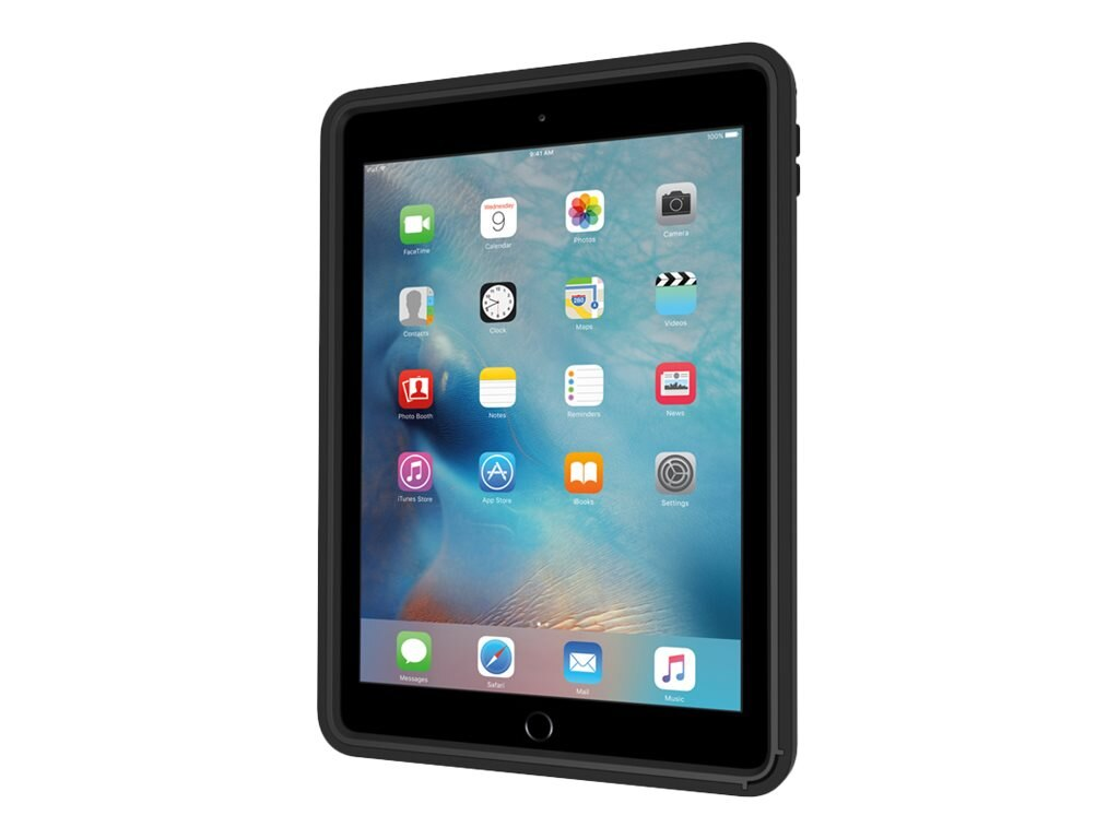 Incipio Capture Ultra-Rugged Case w  Rotating Hand Strap for iPad Pro 9.7, Black