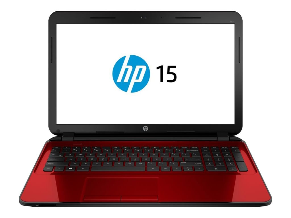 HP Notebook PC AMD A6-5200 4GB 15.6 W8 Red, F5Y37UA#ABA