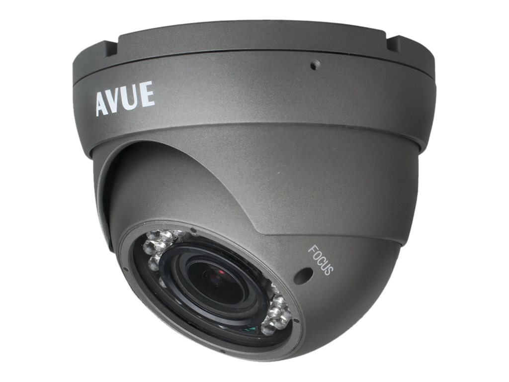Avue 1000 TVL Day Night Dome CCTV Camera with 2.8-12m Lens and OSD