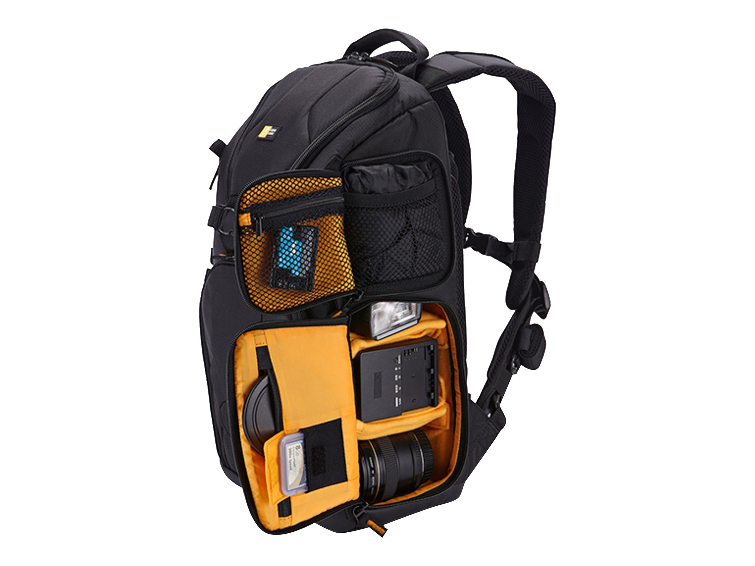 Case Logic Kilowatt Camera Sling Medium Backpack, Black, KSB-101BLACK, 18661499, Carrying Cases - Camera/Camcorder