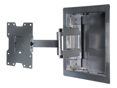 Peerless In-Wall Mount for Flat Panels 22-40in, Silver, IM740P-S, 8411138, Stands & Mounts - AV