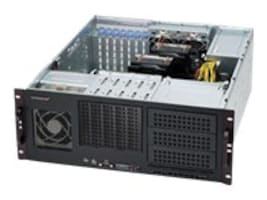 Supermicro Chassis, 4U RM, 3x5.25, 5x 3.5, 7xSlots, 500W PS, Black, CSE-842I-500B, 13714272, Cases - Systems/Servers