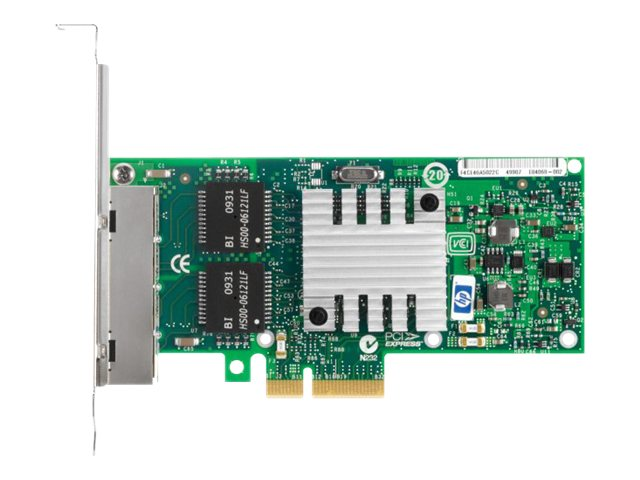 HPE NC365T 4-port Ethernet Server Adapter, 593722-B21, 11694503, Network Adapters & NICs