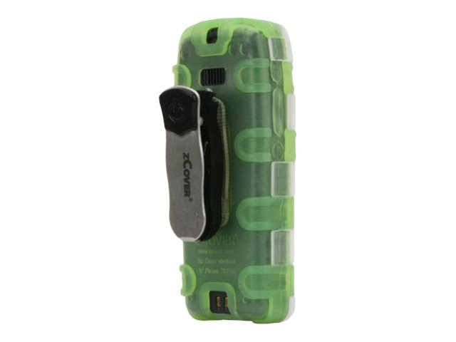 Zcover Dock-in-Case Ruggedized Health Care Grade Silicone Case for Cisco 7925G 7925G-EX (Green), CI925SJG