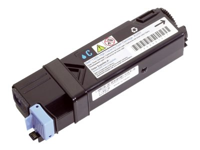 Dell 2500-Page Cyan Toner Cartridge for 2130CN & 2135CN Color Laser Printers, FM065