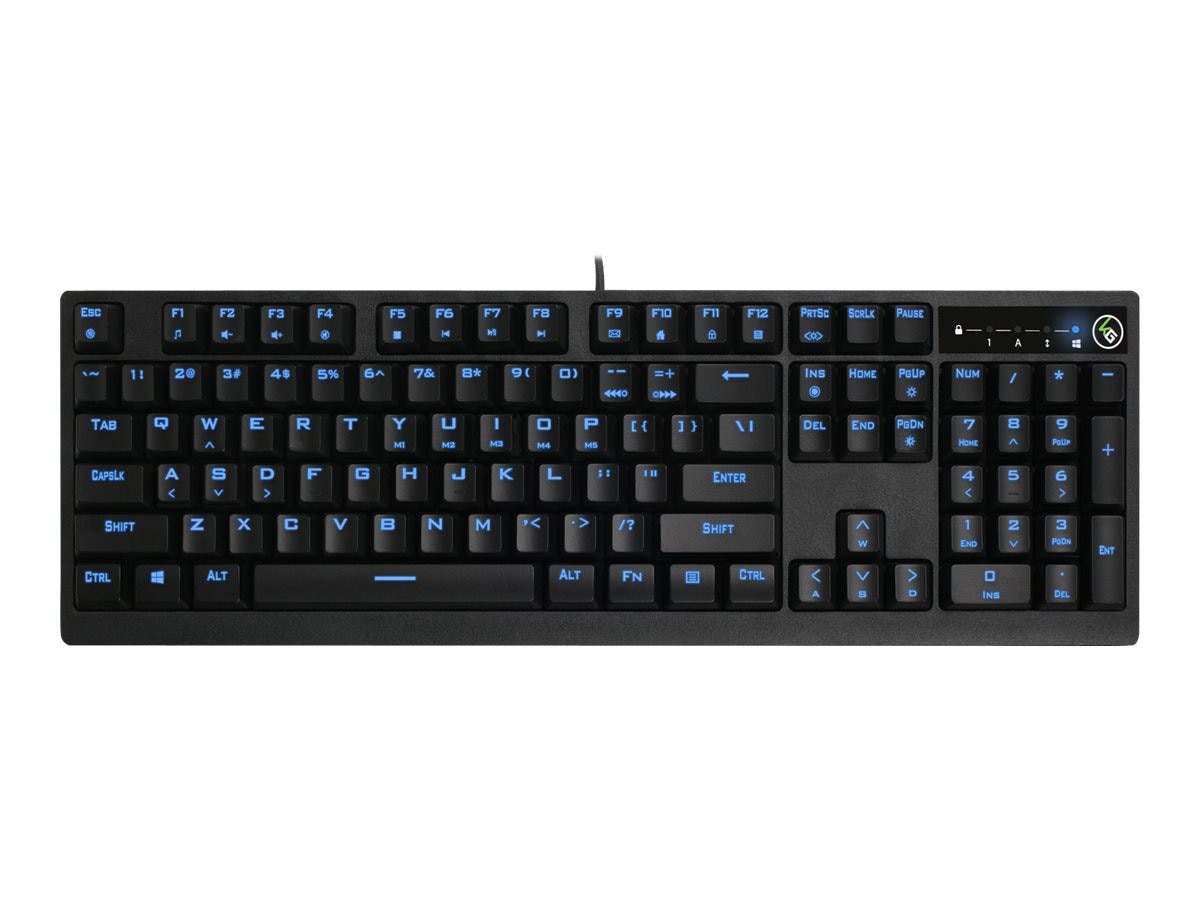IOGEAR MechLite Mechanical Gaming Keyboard, GKB710L