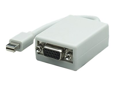 Manhattan Mini DisplayPort to VGA (M-F) Shielded Adapter