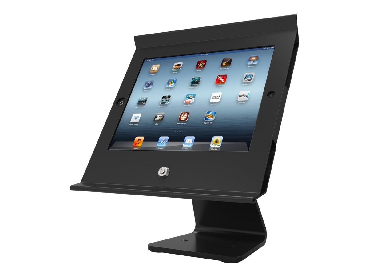 Compulocks Slide Pro POS Kiosk, Black, for iPad Mini, 303B250MPOSB