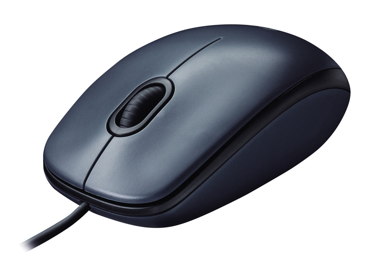 Logitech M100 USB Optical Mouse, Black, 910-001601