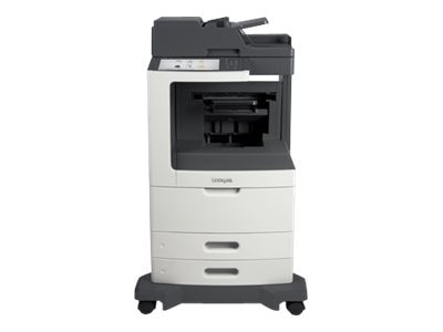 Lexmark MX810de Monochrome Laser Multifunction Printer w  CAC Enablement & 4-year Onsite (TAA Compliant), 24TT814, 30771720, MultiFunction - Laser (monochrome)