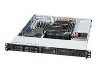 Supermicro SuperChassis 111LT 1U RM Dual Single Intel AMD 4x2.5 HS Bays 3xFans 360W, CSE-111LT-360CB, 14971289, Cases - Systems/Servers