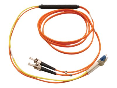 Tripp Lite Mode Fiber Conditioning Patch Cable, ST-LC, 10m