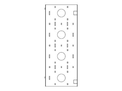 Liebert Cable Backplane 800 to 800 2 Kit, Kit of 2, 546553P1